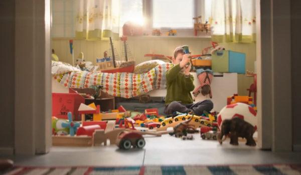 IKEA – Basta Poco Per Fare Spazio All'immaginazione